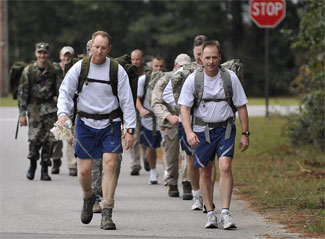 Military Triathlon (Run, Ruck , Swim) at StewSmith.com - Training ...